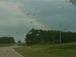 Rainbow I saw on the way home from work last week.