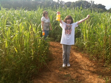 Clara in the Corn