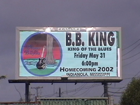 B.B. King Billboard