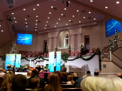 sanctuary of flint river baptist church in harvest alabama