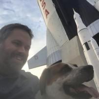 David and Amos at the Space & Rocket Center