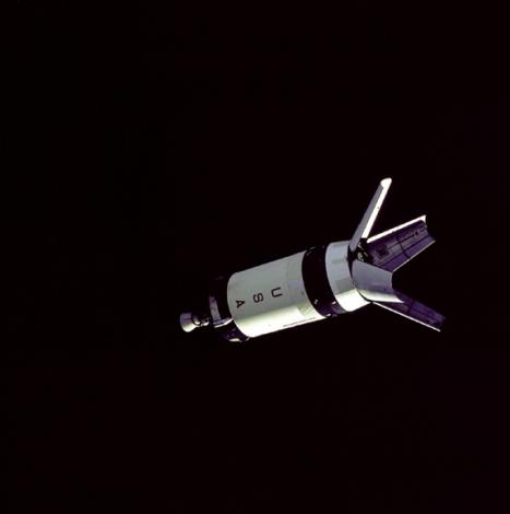 Saturn V S-IVB Stage in space